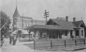 La Grange Road Train Station