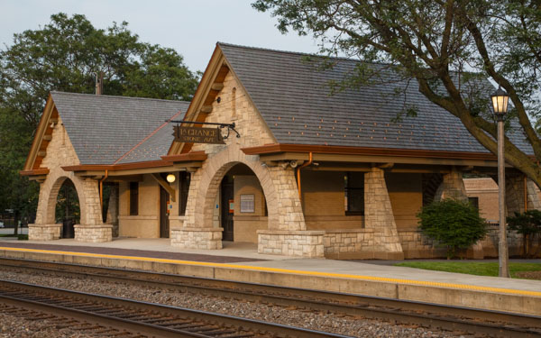 Stone Avenue Station, La Grange Illinois