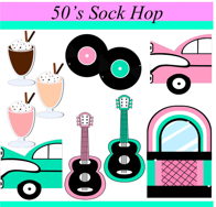 Tea with your doll Sock Hop